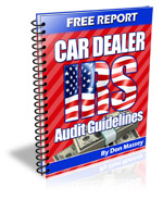 Car Dealer IRS Guidelines