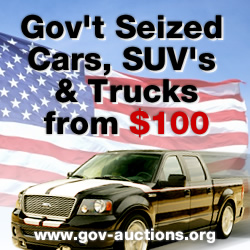 GOV'T AUCTIONS.. CHEAP VEHICLES!